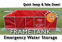 Frame Tank Water Storage